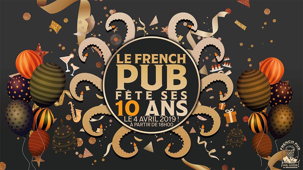 Le French Pub fête ses 10 ans